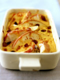Apple Pudding with Calvados Custard Photographic Print by J&#246;rn Rynio