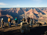 Winter Time on the South Rim of the Grand Canyon at Hopi Point Photographic Print by Michael S. Lewis