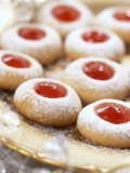 Jam-Filled Christmas Biscuits Photographic Print by Alena Hrbkova