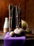 Still Life with Root Vegetables and Tubers Photographic Print by Jan-peter Westermann