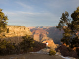 Winter Time on the South Rim of the Grand Canyon near el Tovar Hotel Photographic Print by Michael S. Lewis