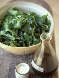 Rocket Salad with Vinaigrette Photographie par Jean Cazals