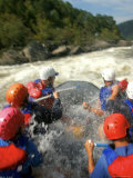 Whitewater Rafters Take on the Upper Gauley River Photographic Print by Skip Brown