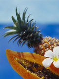 Papaya and Pineapple Photographic Print by Vladimir Shulevsky