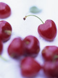 Red Cherries Photographic Print by Ulrike Holsten