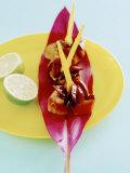 Barbecued Tuna with Onion Chutney Fotografie-Druck von Alexander Van Berge