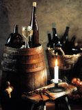 Rustic Wine Setting Photographic Print by Bodo A. Schieren