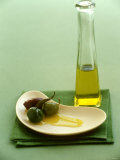 Olives with Olive Oil Photographic Print by Louise Lister