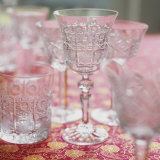 Various Empty Crystal Glasses Photographic Print by Alena Hrbkova