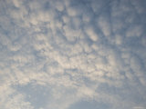White Puffy Clouds in Sky, Santa Barbara, California Photographic Print by James Forte