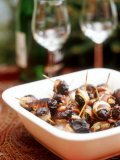 Baked Prunes Wrapped in Bacon Photographic Print by Dorota & Bogdan Bialy