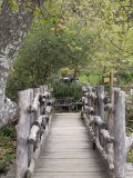 Wooden Bridge at el Capitan Ranch, California Photographic Print by Rich Reid