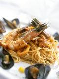 Spaghetti Di Frutti Di Mare (Spaghetti with Seafood) Photographic Print