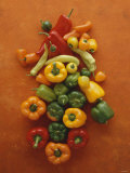 Assorted Peppers Photographic Print by Luzia Ellert