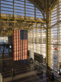 View Inside Ronald Reagan National Airport, Arlington, Virginia Fotografisk tryk af Rich Reid