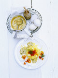 Eggs in Mustard Sauce with Potato Snow Photographic Print by Jan-peter Westermann