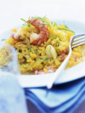 Seafood Risotto Photographic Print