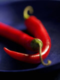 Chillies, Long Red Variety Photographic Print by Karl Newedel