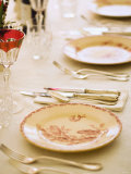Festively Set Table Photographic Print by Greg Elms