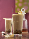 Whisky and Coffee Zabaione in Two Glasses Photographic Print by Marc O. Finley