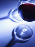 A Glass of Red Wine Photographic Print by Joerg Lehmann