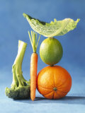 Still Life with Fruit and Vegetables Photographic Print by Diana Miller