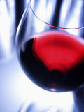 A Glass of Red Wine, Close-Up Photographic Print by Joerg Lehmann