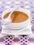Carrot and Tomato Soup with Pepper Photographic Print by Maja Smend