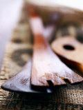 Wooden Cooking Utensils Photographic Print by Maja Danica Pecanic
