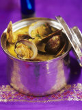 Shellfish in Goan Sauce, India Photographic Print by Jean Cazals
