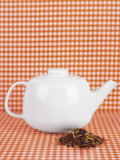 White Teapot and Tea Mixture Photographic Print by Sara Danielsson