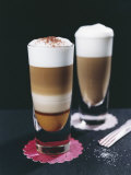 Latte Calabrese and Latte Siciliana Photographic Print by Sara Danielsson