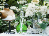 May-Time Decoration: Woodruff Liqueur, Bust, Lilac Photographic Print by Elke Borkowski