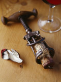 Corkscrew with Cork Photographic Print