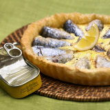 Sardine Tart Photographic Print by Bernard Radvaner