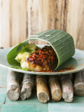 Cod in Spicy Marinade, Nobu Style Photographic Print by Jan-peter Westermann