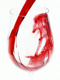 Red Wine Pouring Photographic Print by Steve Baxter