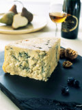 A Piece of Blue Cheese Photographic Print by Stefan Braun