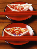 Chinese Place Setting with Chopsticks Photographie