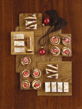 Assorted Christmas Baking (Mulled Wine Slices, Doughnuts) Photographic Print by Luzia Ellert