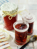 Raspberry and Red Berry Jam Photographic Print by Giorgio Scarlini
