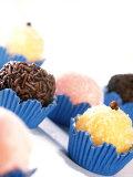 Brazilian Sweets: Beijinho, Brigadeiro, Bicho-De-Pe Photographic Print by Thomas Kremer