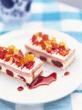 Zuppa Romana (Layered Sponge and Cream Dessert) Photographic Print by Peter Medilek