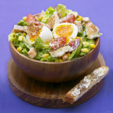 Mixed Salad with Chicken Breast and Egg Photographic Print by Bernard Radvaner