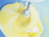 Beating Eggs with Electric Hand Mixer Photographic Print by Linda Burgess