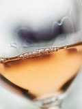 A Glass of Rose Wine Photographic Print by Herbert Lehmann