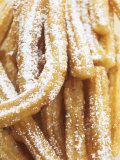 Churros (Spanish Fried Pastry Snack) Photographic Print