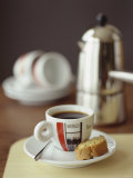 Espresso with Biscotti Photographic Print by Michael Paul