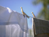 Washing Hanging on the Line Photographic Print by Roland Krieg