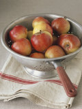 Fresh Red Apples in Colander Photographic Print by Michael Paul